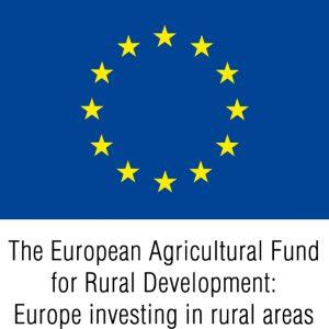 EU-flagga+Europeiska+jordbruksfonden+engelsk+färg